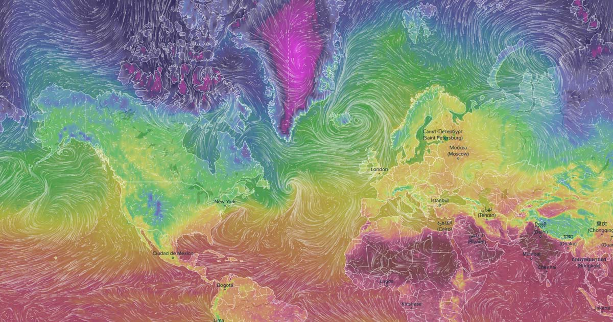 Ventusky - Wind, Rain and Temperature Maps